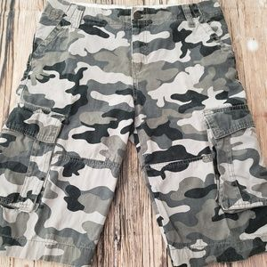 Other - BOYS Tucker + Tate for Nordstrom Camo Cargo Shorts
